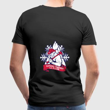 firefighter logo la plagne - Men's Premium T-Shirt