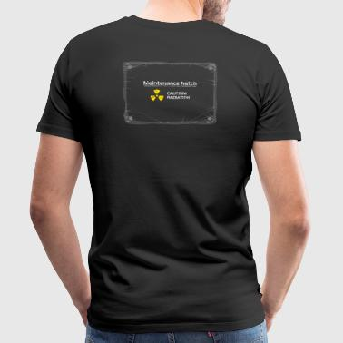 Maintenance Hatch - now with screws! - Men's Premium T-Shirt