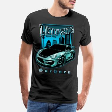 Ore Mountains Leipzig Saxony - Men's Premium T-Shirt
