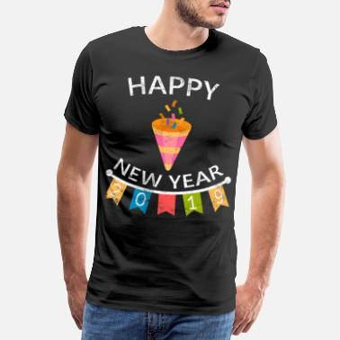 New Year New Year New Year's Eve New Year - Men's Premium T-Shirt