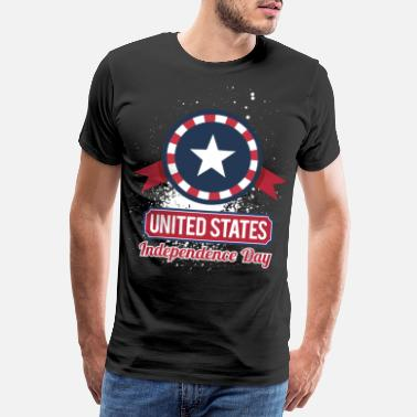 Independence USA America 4th of July - Men's Premium T-Shirt