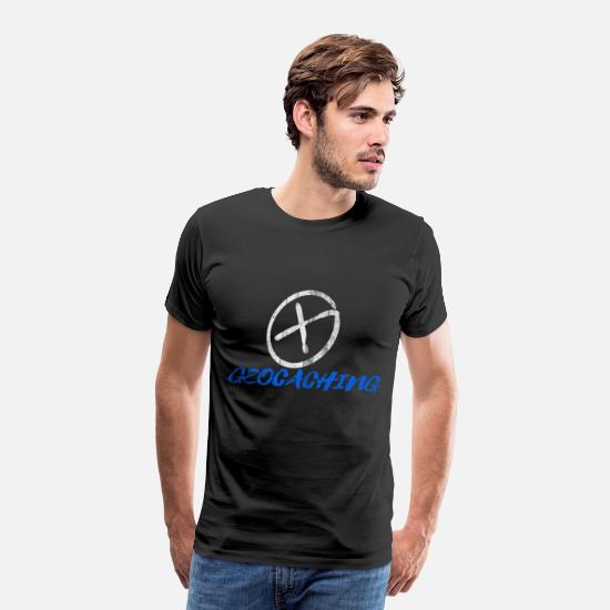 Earth T-Shirts - Geocaching - Men's Premium T-Shirt black