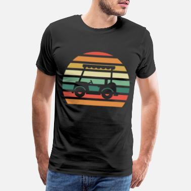 Caddy Golf - Männer Premium T-Shirt