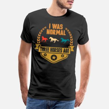 Farming horse - Men's Premium T-Shirt