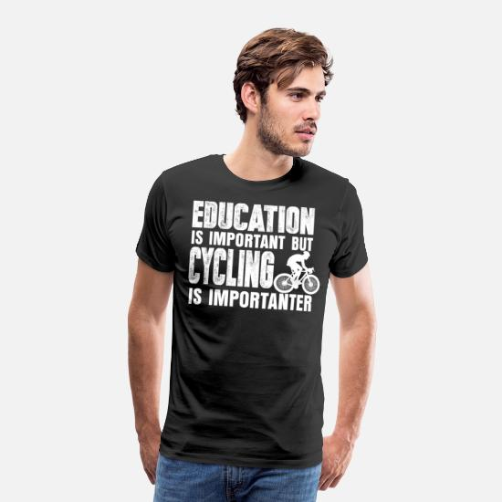 Bike T-Shirts - bicycle - Men's Premium T-Shirt black
