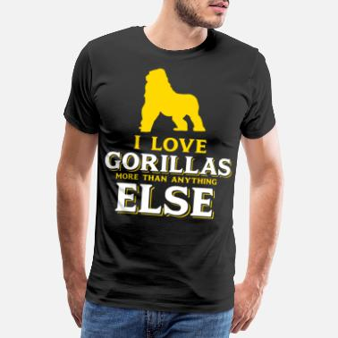 Animal Welfare Gorilla passion - Men's Premium T-Shirt