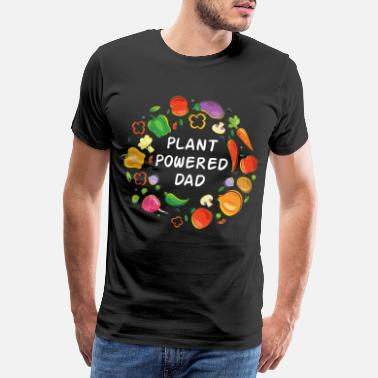 Daddy Vegan Daddy Vegetable Healthy Family Gift - Camiseta premium hombre