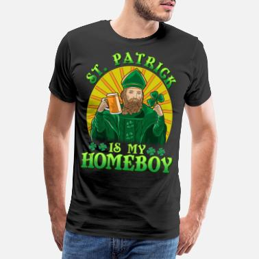 Ireland Mr. Patrick is my fun Friend - Men's Premium T-Shirt