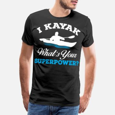 Yoga I am kayaking - Men's Premium T-Shirt