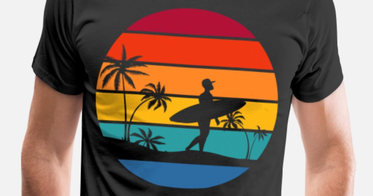 Standard Edition Surfer III Surfbrett mit Segel surfen Evolution T-Shirt S-XXXL