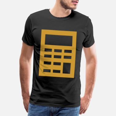 Calculator calculator - Men's Premium T-Shirt