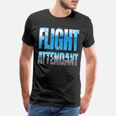 Aviation Équipage de cabine PNC - T-shirt premium Homme