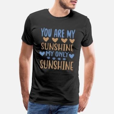 Wilderness You are my - Adventure Design - Men's Premium T-Shirt