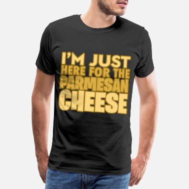 Quark I'm only here for the Parmesan milk harvest - Men's Premium T-Shirt
