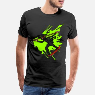 Assassin Skater Ninja gift for ninja & skateboard fans - Men's Premium T-Shirt