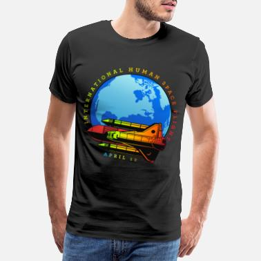 Spacemonster Space rocket gift for space friends - Men's Premium T-Shirt