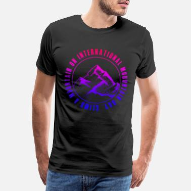 International climb a mountain to the International Mountain - Men's Premium T-Shirt