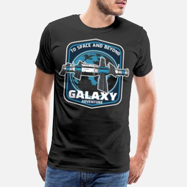 Space Ship Galaxy Advanture - Outer Space Gift - Men's Premium T-Shirt