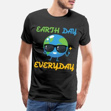 Peace On Earth Peace Day Earth Day Everyday Day Plan - Men's Premium T-Shirt