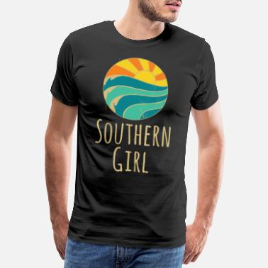 Southern Southern Girl South Sun Sea - Men's Premium T-Shirt