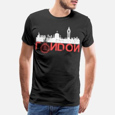Richmond London City, Hauptstadt Groß Britannien - Männer Premium T-Shirt