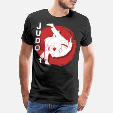Jujutsu Judo Martial Arts Gift Japan Sport Fighter Kasta - Premium T-shirt herr