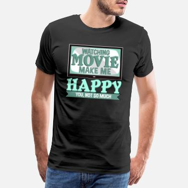 Movie Quote Cinema movies television hollywood gift - Men's Premium T-Shirt