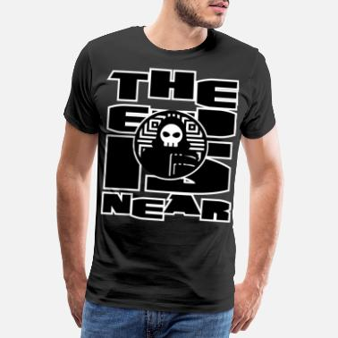 Judgment The end is near - the end of the world and Armageddon - Men's Premium T-Shirt