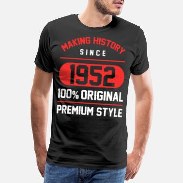 Awesome Son Making history since 1952 - 68th Birthday Gift - Men's Premium T-Shirt