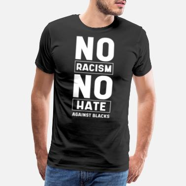 Identity No Racism No Hate - Anti Asian Racism - Men's Premium T-Shirt