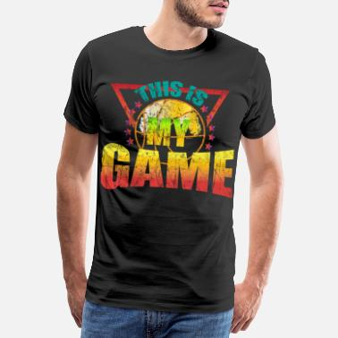 Nostalgia Basketball Retro Vintage Gift - Men's Premium T-Shirt