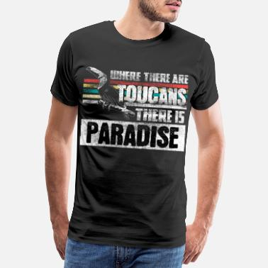 Parrot Toucan holiday gift - Men's Premium T-Shirt