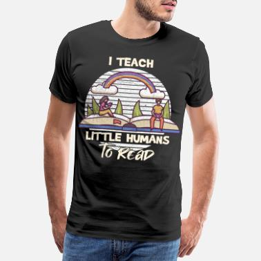 School Primary school teacher design for a German teacher - Men's Premium T-Shirt