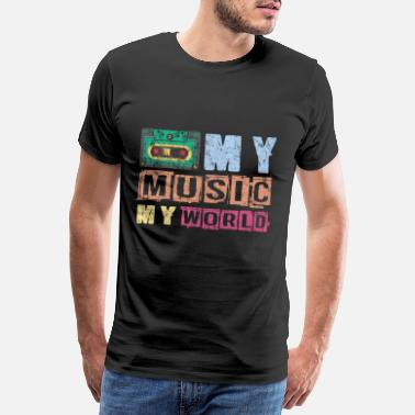 Music System music - Men's Premium T-Shirt