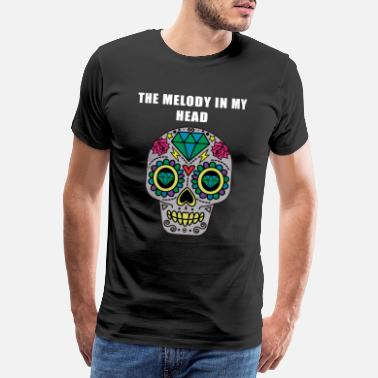 Afterhour Techno Melody in my Head - Männer Premium T-Shirt