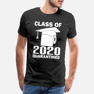 High School Klass 2020 - Premium T-shirt herr