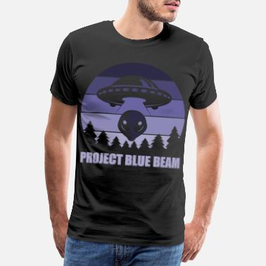Beam Me Up Project Blue Beam - Männer Premium T-Shirt