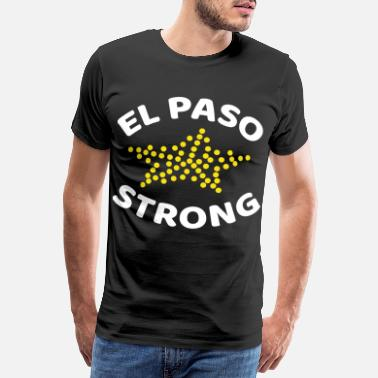 Lone Star el paso strong texas strong - Mannen premium T-shirt