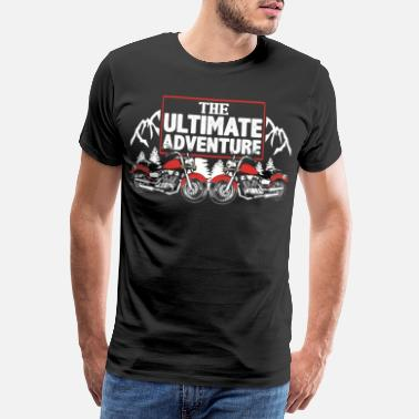 Burnout The ultimate adventure bike - Männer Premium T-Shirt