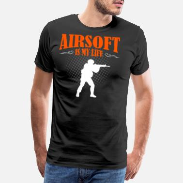Paintball Airsoft Is My Life - Männer Premium T-Shirt