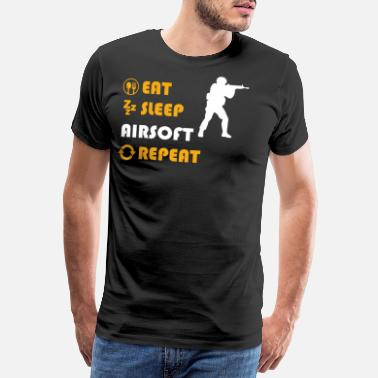 Softair Airsoft - present for men and women - Men's Premium T-Shirt
