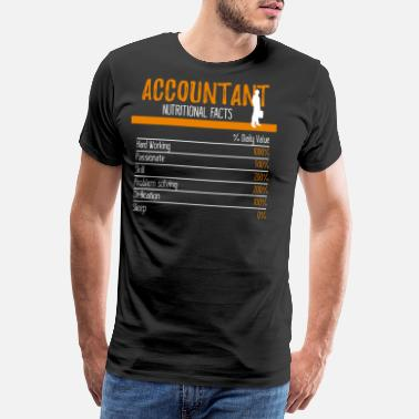 Further Accountant Ingredients - Men's Premium T-Shirt