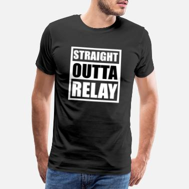 Royal STRAIGHT OUTTA RELAY | Apex Legends Battle Royale - Men's Premium T-Shirt