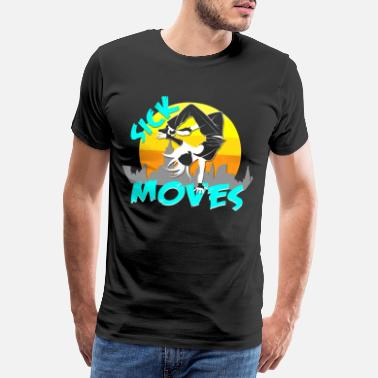 B -boy Breakdance Air Freeze - Men's Premium T-Shirt