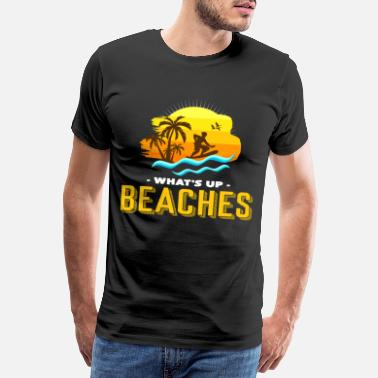 Trunk What's going on on the beaches - Men's Premium T-Shirt