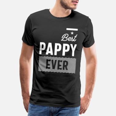 Best Father Mens Best Pappy Ever | Father Grandpa Gift - Men's Premium T-Shirt