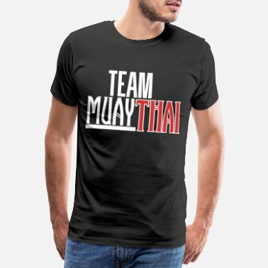 Kickboxing Team Muay Thai Kickboxing Kickboxing - Men's Premium T-Shirt