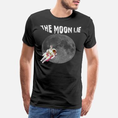 Gratulasjon THE MOON LIE Tee Shirt Gaveidee - Premium T-skjorte for menn