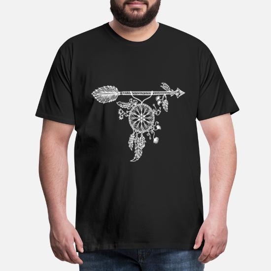 Idee De Cadeau De Reve Mandcher Indien Attrape Reves T Shirt Premium Homme Spreadshirt