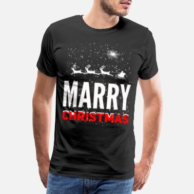 Marry Marry christmas - Männer Premium T-Shirt